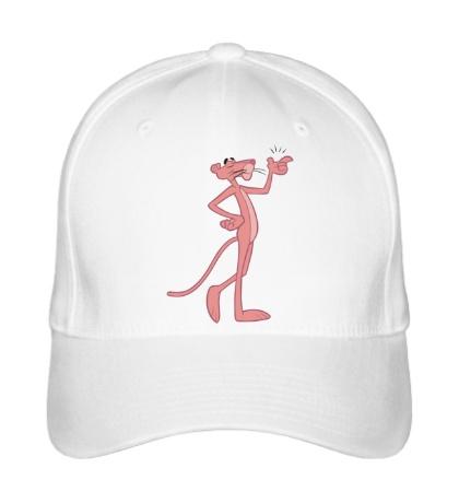 Бейсболка Розовая пантера думает