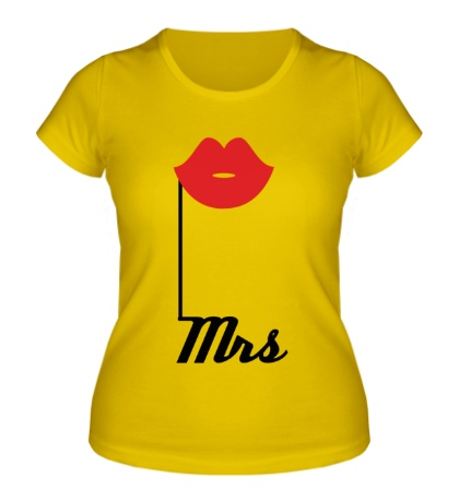 Женская футболка Миссис губки