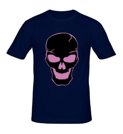 Мужская футболка Страшный череп