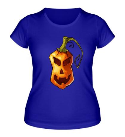 Женская футболка Оранжевая тыква