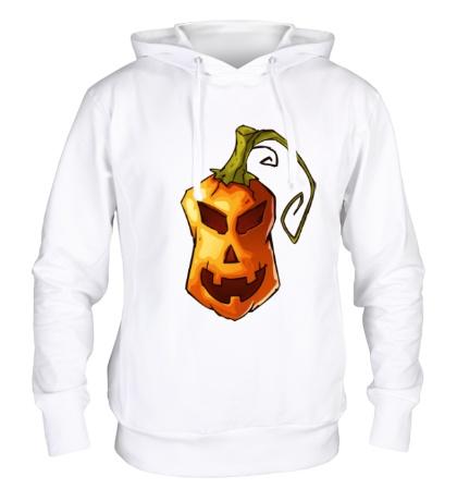 Толстовка с капюшоном Оранжевая тыква