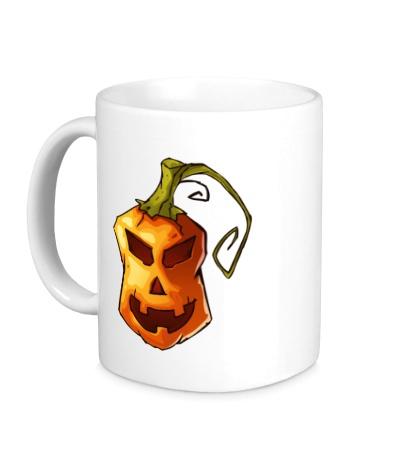 Керамическая кружка Оранжевая тыква