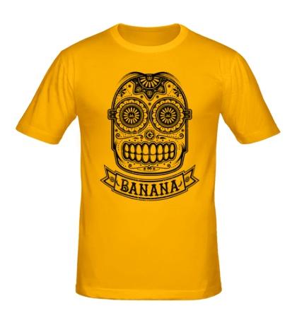Мужская футболка Банановый череп