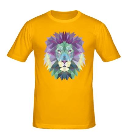 Мужская футболка Винтажный лев