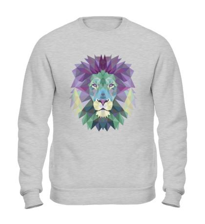 Свитшот Винтажный лев