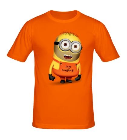 Мужская футболка I love Clarice
