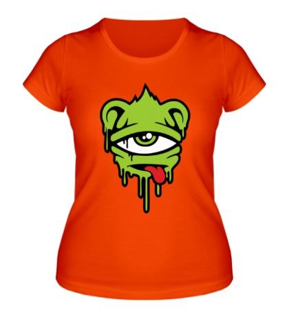 Женская футболка Одноглазый смайл