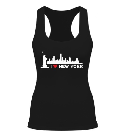 Женская борцовка Панорама Нью Йорка