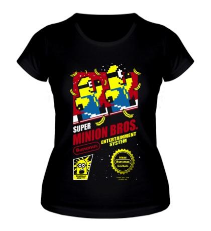 Женская футболка Super Minion Bros