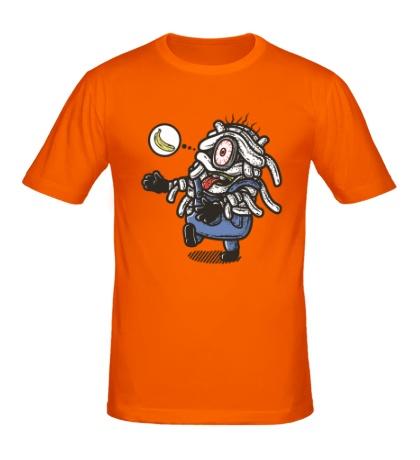 Мужская футболка Миньон-мумия