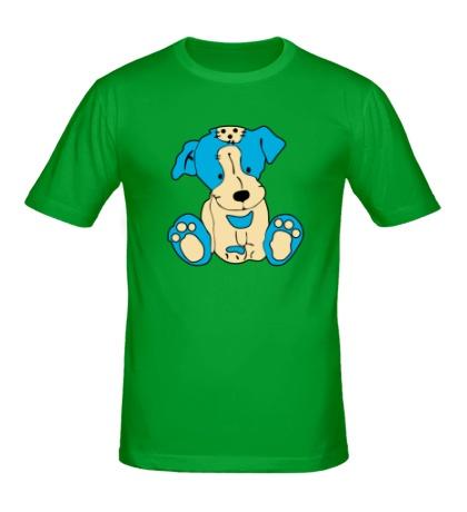 Мужская футболка Милый пёсик