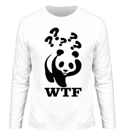 Мужской лонгслив WTF Panda