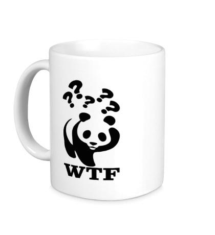 Керамическая кружка WTF Panda