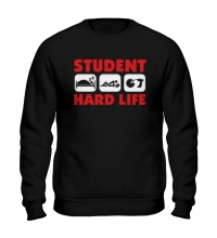 Свитшот Student Hard Life