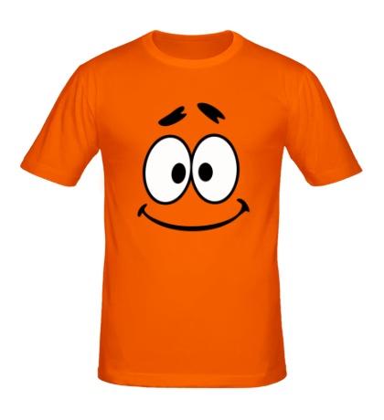 Мужская футболка Очень милый смайл
