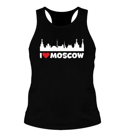 Мужская борцовка Я люблю тебя, Москва
