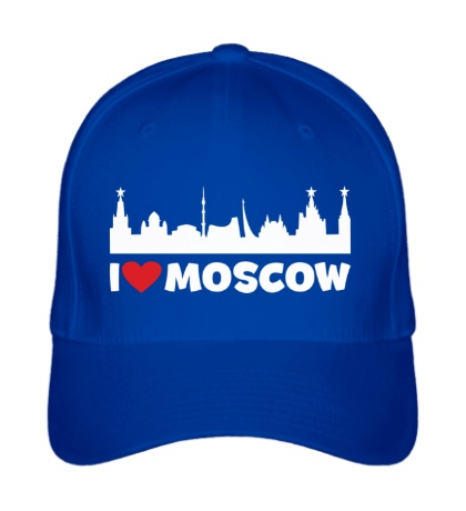 Бейсболка Я люблю тебя, Москва