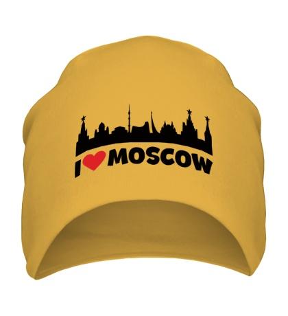 Шапка Я люблю тебя, Москва