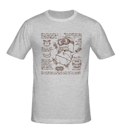 Мужская футболка План Миньона