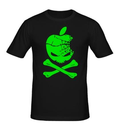 Мужская футболка Apple Skull