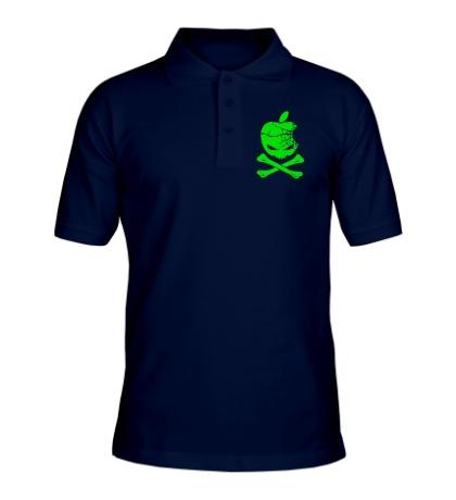 Рубашка поло Apple Skull