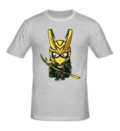Мужская футболка Миньон Локи