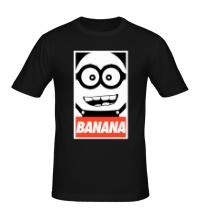 Мужская футболка Banana Poster