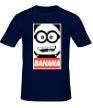 Мужская футболка «Banana Poster» - Фото 1