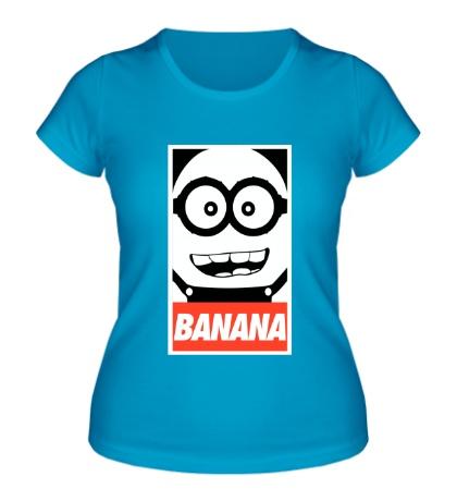 Женская футболка Banana Poster