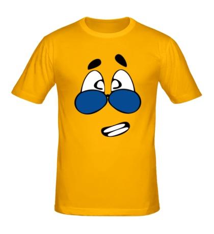 Мужская футболка Деловой смайл