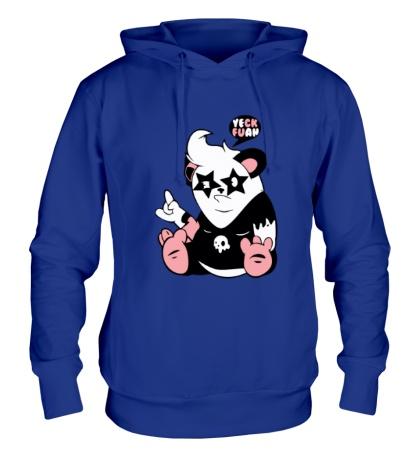 Толстовка с капюшоном Панда поп-звезда