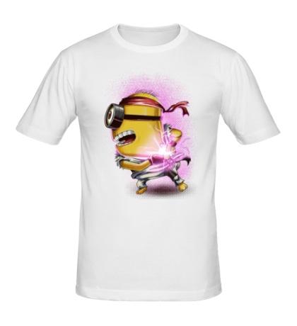 Мужская футболка Миньон Уличный боец