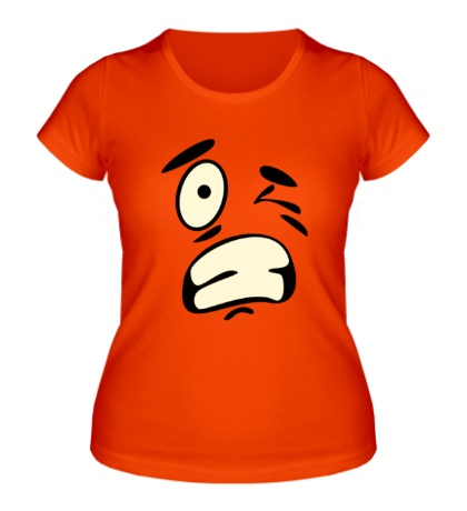 Женская футболка Подмигивающий смайл