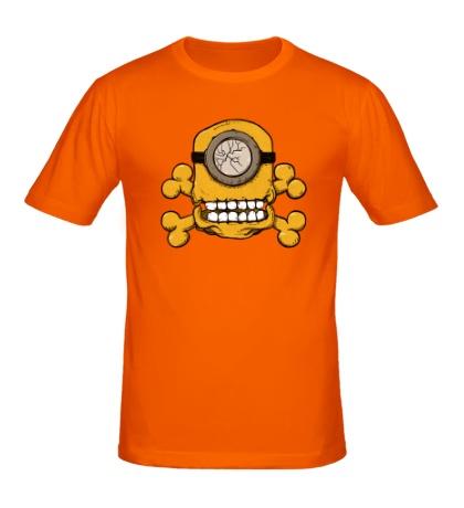 Мужская футболка Череп Миньона