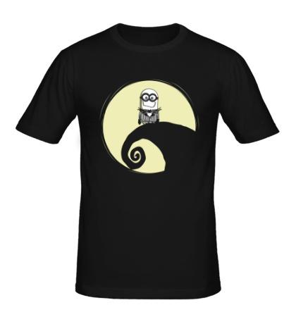 Мужская футболка Ночной Миньон