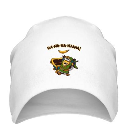 Шапка Миньон, банановый воин