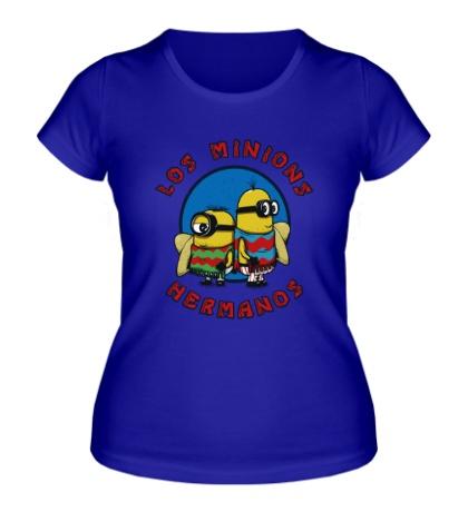 Женская футболка Los Minions Hermanos
