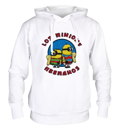 Толстовка с капюшоном Los Minions Hermanos