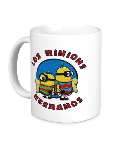 Керамическая кружка Los Minions Hermanos