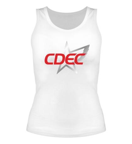 Женская майка CDEC Team