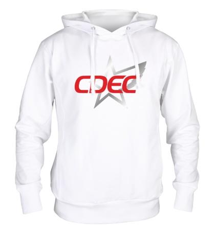 Толстовка с капюшоном CDEC Team
