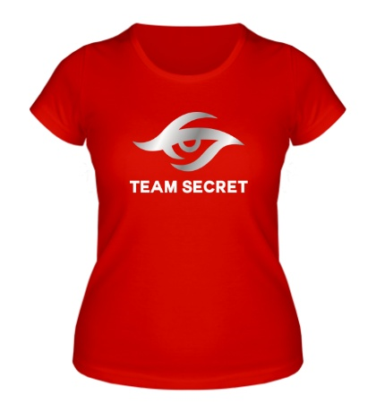 Женская футболка Team secret