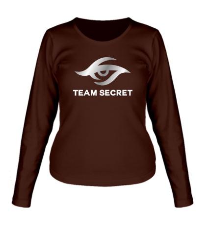 Женский лонгслив Team secret