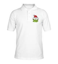 Рубашка поло Новогодний зубастик