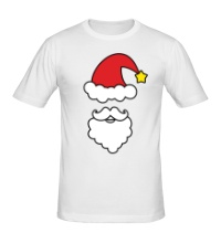 Мужская футболка Улыбка Деда Мороза