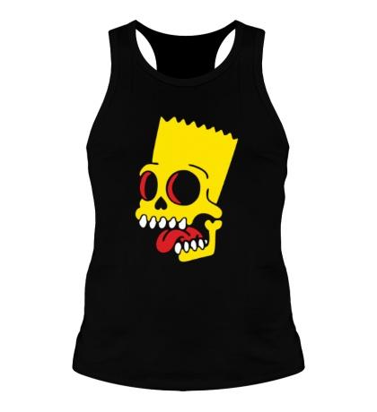 Мужская борцовка Барт Симпсон зомби