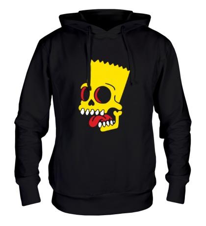 Толстовка с капюшоном Барт Симпсон зомби