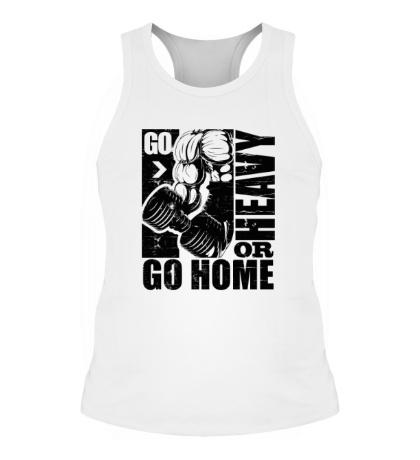 Мужская борцовка Go heavy or go home