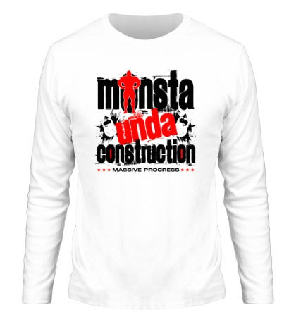 Мужской лонгслив Monsta unda construction