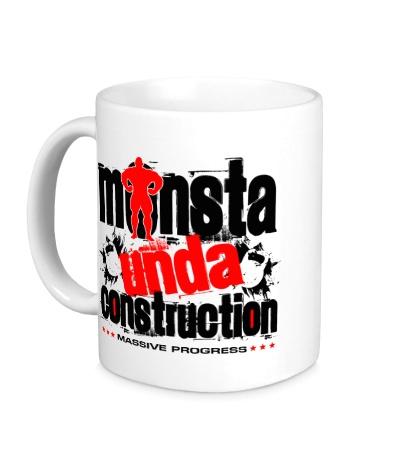 Керамическая кружка Monsta unda construction
